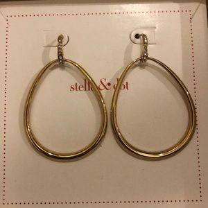 Stella & Dot Goddess Teardrop Earrings